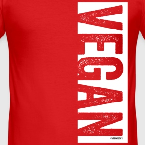 VEGAN - Slim Fit T-shirt herr
