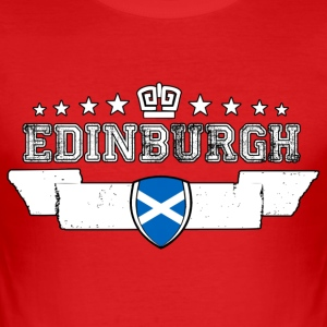 Edinburgh - Herre Slim Fit T-Shirt