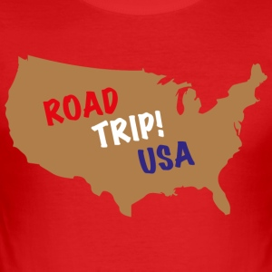 ROAD TRIP! USA - Men's Slim Fit T-Shirt