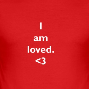loved - slim fit T-shirt
