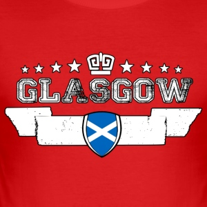 Glasgow - Slim Fit T-skjorte for menn