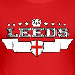 Leeds - Slim Fit T-shirt herr