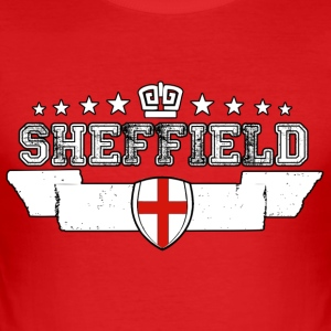 Sheffield - Slim Fit T-shirt herr