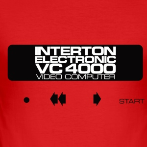 VC4000 - Slim Fit T-shirt herr