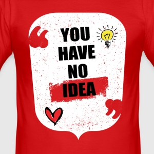 NO IDEA - Men's Slim Fit T-Shirt