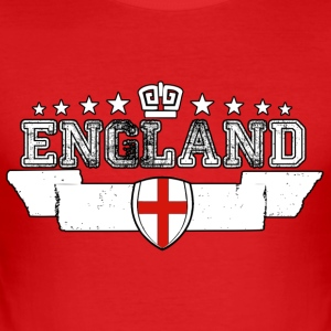England 3 - Herre Slim Fit T-Shirt