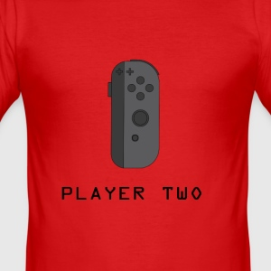 ¿Ready Player Two? - Slim Fit T-skjorte for menn