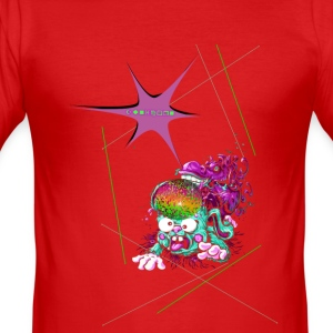 ZUNICORN - Slim Fit T-shirt herr