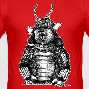 SAMURAI BEARS - slim fit T-shirt