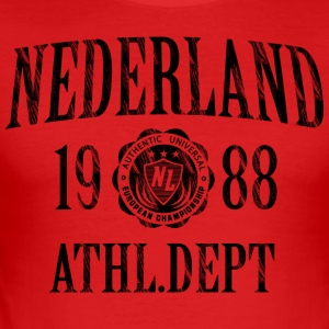 T-shirt Nederland - slim fit T-shirt