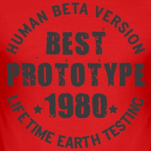 1980 - The year of birth of legendary prototypes - Men's Slim Fit T-Shirt