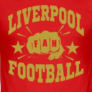 Liverpool_Fan - Slim Fit T-shirt herr