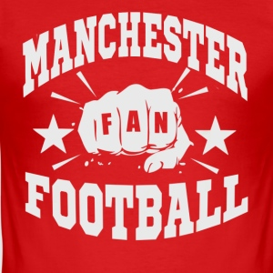 Manchester Fan - Slim Fit T-skjorte for menn