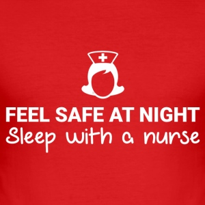 Feel Safe At Night! - slim fit T-shirt
