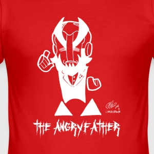 THE ANGRYFATHER - Men's Slim Fit T-Shirt
