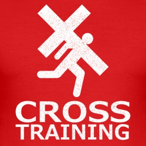 Crosstraining (Sarkasmus) - Männer Slim Fit T-Shirt