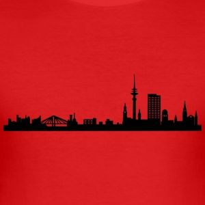 Hamburg - Slim Fit T-skjorte for menn