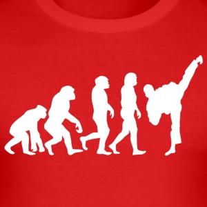 ++ ++ Martial Arts Evolution - slim fit T-shirt