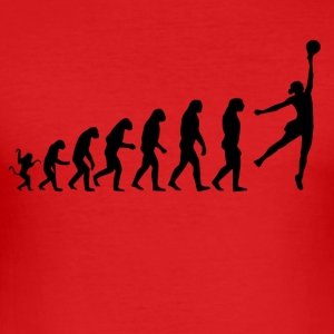 Basketball evolution - Men's Slim Fit T-Shirt