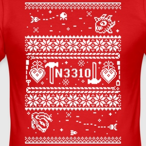 Christmas_3310 - Herre Slim Fit T-Shirt