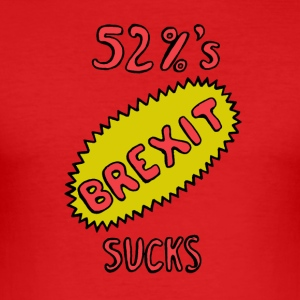 Brexit suger - Slim Fit T-shirt herr