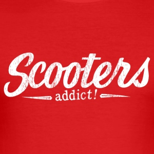 Scooters verslaafde! - slim fit T-shirt