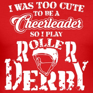 Roller Derby - Slim Fit T-shirt herr