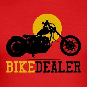 Bike Dealer · LogoArt - Slim Fit T-skjorte for menn