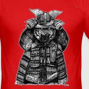 SAMURAI TIGER - Slim Fit T-shirt herr