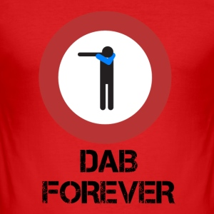 DAB ALT / Prohibited dabbare - Men's Slim Fit T-Shirt