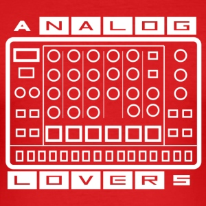 Lovers Analog - Tee shirt près du corps Homme