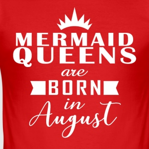 Mermaid Queens August - Men's Slim Fit T-Shirt