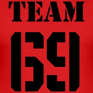 Team-69 - Herre Slim Fit T-Shirt