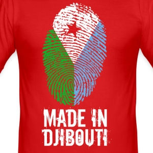 Made In Djibouti / Djibouti / جيبوتي - Slim Fit T-shirt herr
