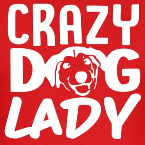 ++ Carzy Dog Lady ++ - Herre Slim Fit T-Shirt