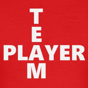 Teamplayer 2 (2171) - Männer Slim Fit T-Shirt
