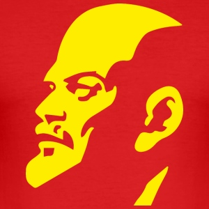 Communist Lenin - Men's Slim Fit T-Shirt