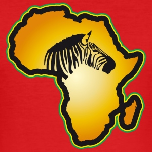 Zebra Afrika Safari Kenia Serengeti Roots Reggae - Männer Slim Fit T-Shirt