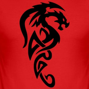 Dragon tribial - Tee shirt près du corps Homme