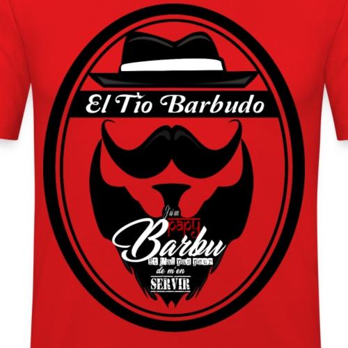 Papy Barbu - T-shirt près du corps Homme