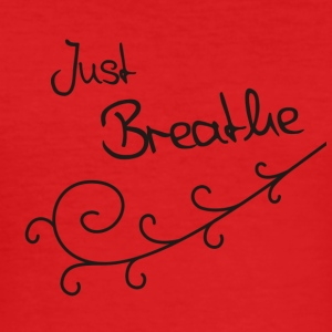 Just Breathe Tanktop (Bio) - slim fit T-shirt