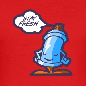 stay_fresh - Slim Fit T-skjorte for menn