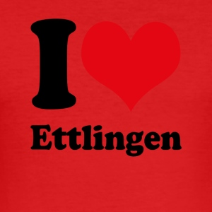 I love Ettlingen - Men's Slim Fit T-Shirt