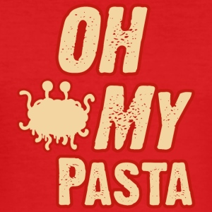 Oh my pasta fsm - Men's Slim Fit T-Shirt