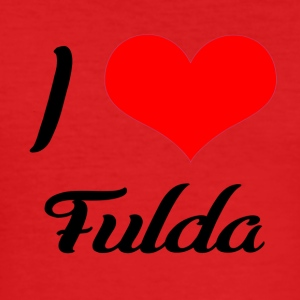 I love Fulda - Männer Slim Fit T-Shirt