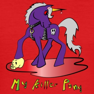 mein Killer Pony - Männer Slim Fit T-Shirt