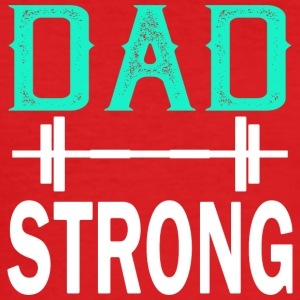 Dad Strong - fitness - Men's Slim Fit T-Shirt