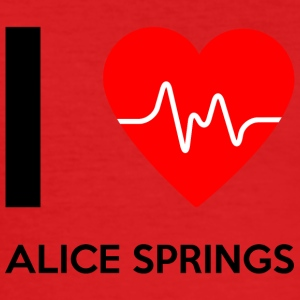 I Love Alice Springs - Jeg elsker Alice Springs - Herre Slim Fit T-Shirt