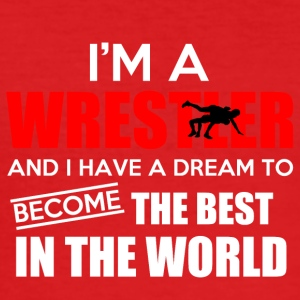 Wrestler Shirt / Wrestling - Men's Slim Fit T-Shirt