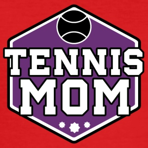 Tennis Mom - Männer Slim Fit T-Shirt